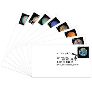 US 5069-5076 Views of Our Planets (set of 8) BWP FDC 2016