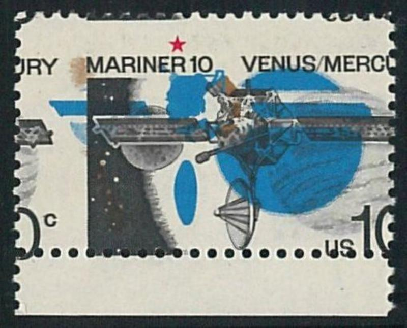 57864 -  USA - stamps: MNH stamp PRINTING ERROR - SPACE astro