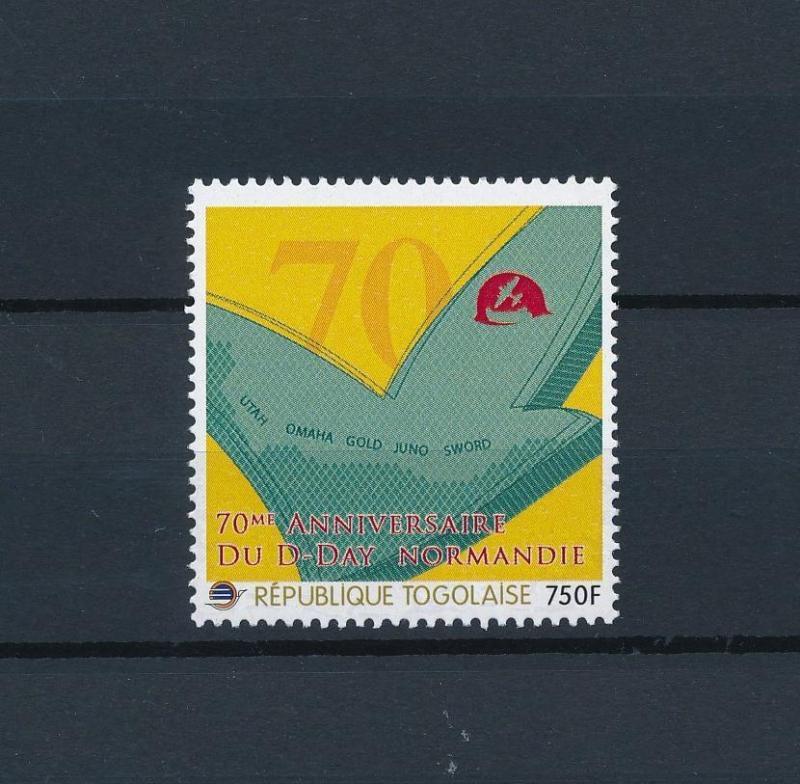 [80839] Togo 2012 Second World war D-day Normandy MNH