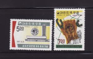 Korea 586-587 Set MH Anticommunist League