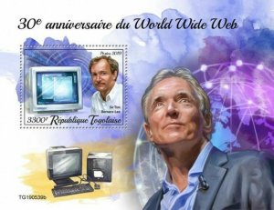 Z08 TG190539b TOGO 2019 World Wide Web MNH ** Postfrisch