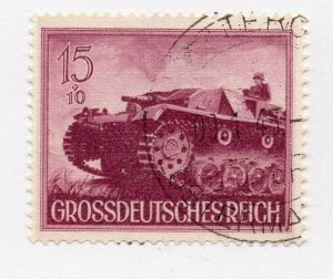 Germany 1943 Early Issue Fine Used 15pf. NW-100714