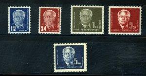 German DDR #54-57A Mint FVF OG LH Cat$85