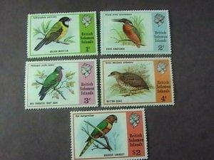 BR. SOLOMON ISLANDS # 280-284-MINT NEVER/HINGED--COMPLETE SET--QEII--1975