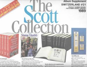 Scott Switzerland #21 Supplement 1989