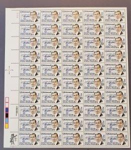 C113, Air Mail, Alfred Verville, Mint Sheet, OGNH, CV $59