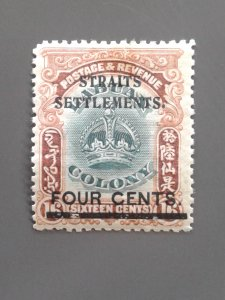 Straits Settlements 138 F-VF mint hinged.. Scott $ 12.00