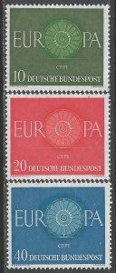 GERMANY 818-20 MNH EUROPA 399F