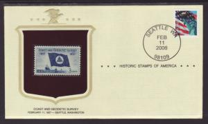US Coast And Geodetic Historic Stamp Cover BIN