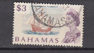 J26641 1967  bahamas used #266 ship