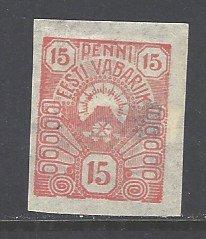 Estonia Sc # 31 mint hinged (DT)