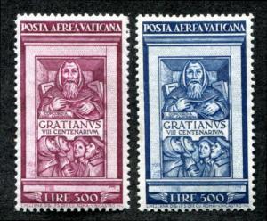 Vatican C20-C21 Mint LH air mail