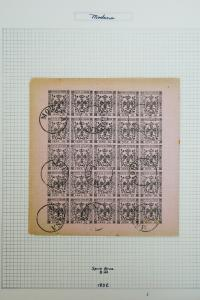 Modena Italy 5 Classic Reference Stamp Sheets