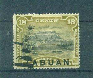 Labuan sc# 56 postally used cat value $65.00