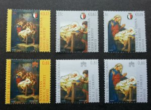 Vatican Malta Joint Issue Nativity By Giuseppe Cali 2007 Christmas (stamp) MNH
