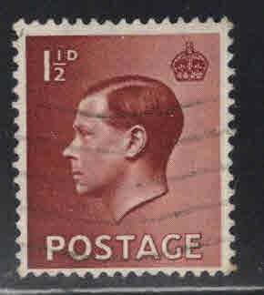 Great Britain Scott 232 Used 1936 KEVIII stamp