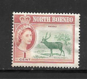 North Borneo #280 MNG Single