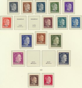 Russia/Ukraine Stamps Scott #N29-48, Mint Hinged Short Set of 16 Stamps - Fre...
