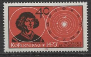 GERMANY. -Scott 1104 -Nicholas Copernicus - 1973- MNH - Single 40pf Stamp