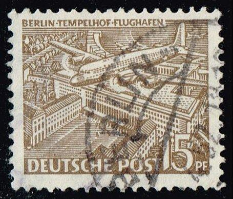 Germany #9N48 Tempelhof Airport; Used (0.90)