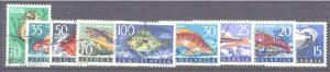 Yugoslavia 452-60 used Fishes SCV21.95