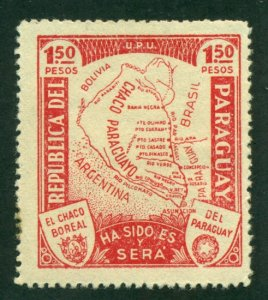 Paraguay 1935 #324 MH SCV (2018) = $0.40