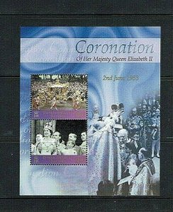 British Antarctic Territory: 2003  50th Anniversary of Coronation,  MNH M/S