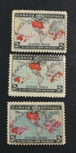 MOMEN: CANADA SG # MINT OG H £ LOT #7133
