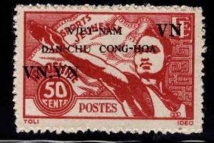 North Viet Nam,Viet MINH issue Scott 1L4 NGAI Athlete