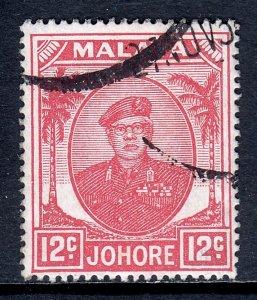 Malaya (Johore) - Scott #139 - Used - Appears CTO - SCV $6.50