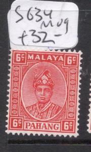 Malaya Pahang SG 34 MOG (12dky)