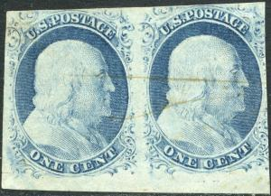 #9 USED PAIR POS96-97R1L VF-XF CV $240.00++ BN9107