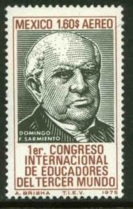 MEXICO C466, 3rd World International Congress of Educators. MINT NH. VF.