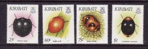 Kiribati-Sc#607-10-Unused NH set-Insects-1993-