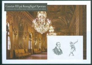 Sweden. France. Joint Issue. Test/Cylinder Print 2008. King Gustav III. Opera