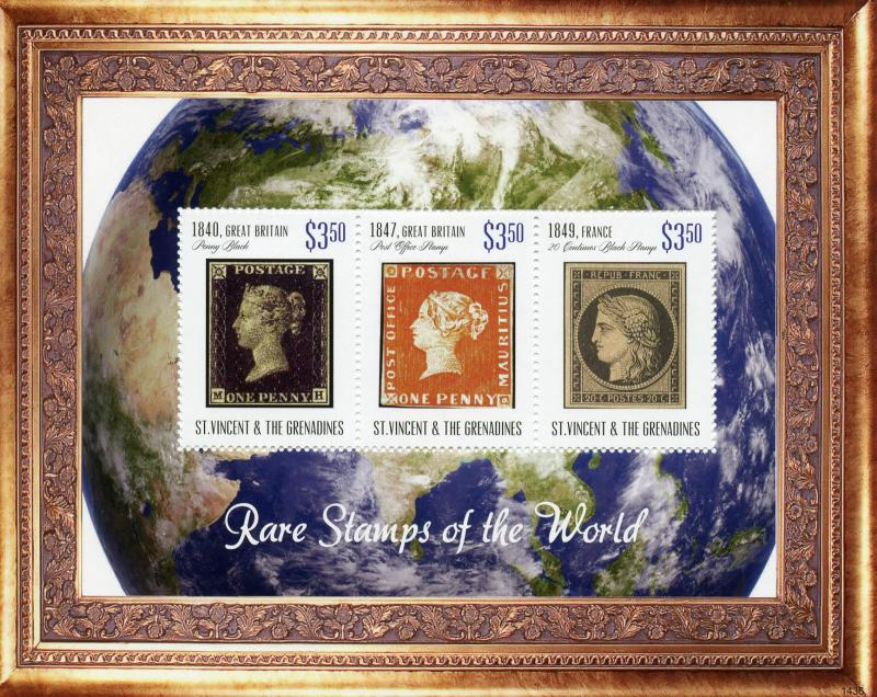 St Vincent & The Grenadines 2014 MNH Rare Stamps World Penny