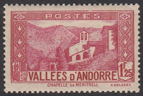 French Andorra 52 MLH CV $55.00