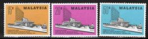 Malaysia Scott 144-146 MNH** set