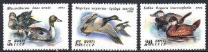 RUSSIA 6009-11 MNH BIN $1.00 DUCKS