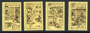 St. Lucia 706-709 MNH 1984