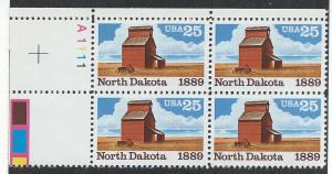 UNITED STATES SC# 2403 F-VF MNH 1989 PL#A1111 BK/4 UL