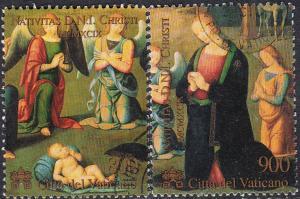 Vatican #1124-1127 Used Set