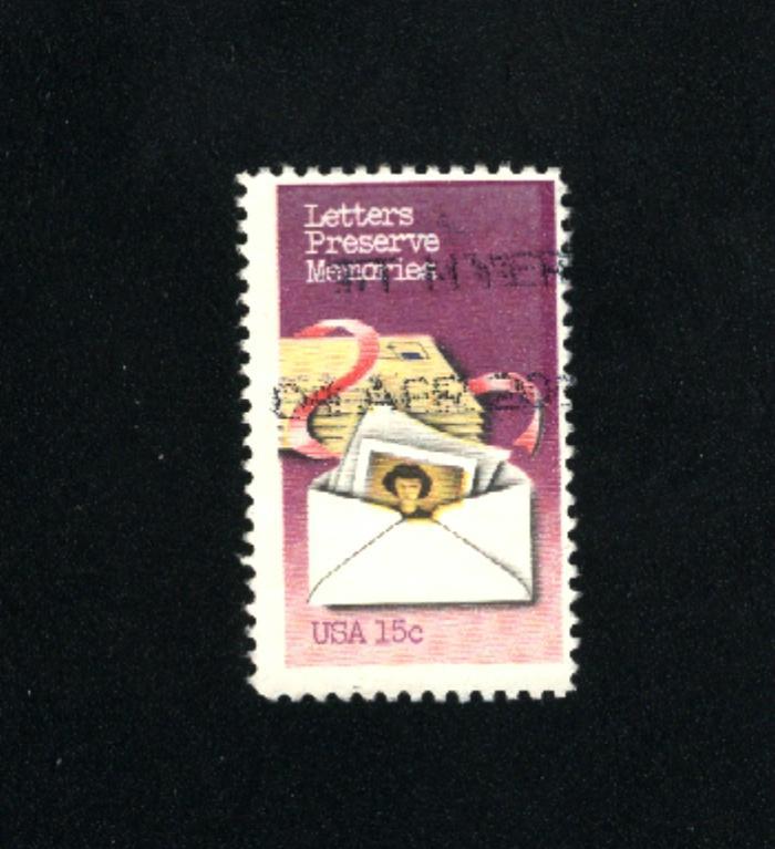 USA #1805  2  used  1980 PD