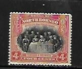 NORTH BORNEO, 140, MINT HINGED, MEETING OF ASSEMBLY