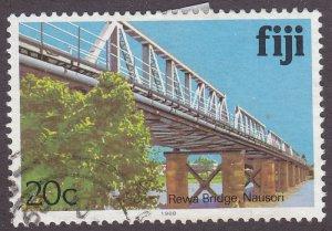Fiji 418h Rewa Bridge, Nausori 1988