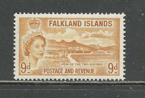 Falkland Islands Scott catalog # 126 Unused HR