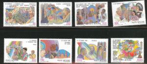Vatican City Scott 795-802 Pope JP2 set CV$24.45 MNH**