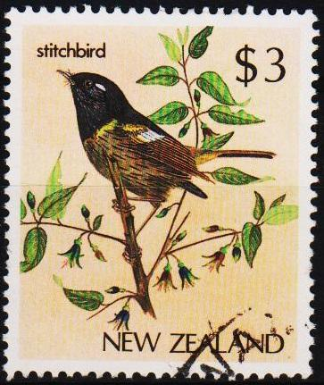 New Zealand. 1982 $3 S.G.1294 Fine Used