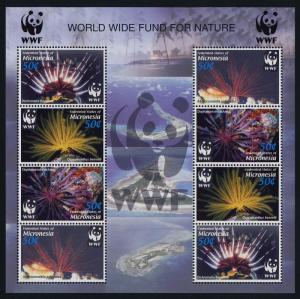 Micronesia 659e MNH WWF, Marine Life