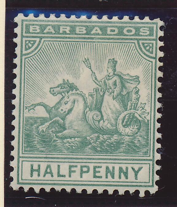 Barbados Stamp Scott #71, Mint Hinged - Free U.S. Shipping, Free Worldwide Sh...